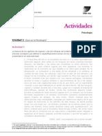 Actividades U1 Psicologia