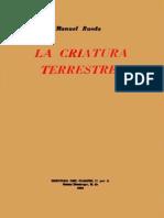 Manuel Rueda - La Criatura Terrestre