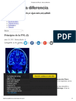 Principios de La PNL (I) - Marca La Diferencia