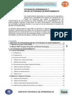 Material de Formación_Programacion Actividades de Mantenimiento