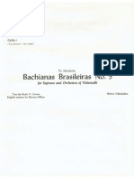 Villa-Lobos Bachianas Brasileiras No.5 Cello I