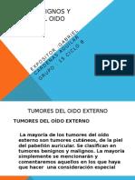 Tumores benignos y malignos del oido externo 1.pptx