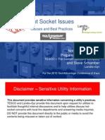 TESCO & Landis+Gyr_SENSITIVE UTILITY INFORMATION_Hot Socket Issues