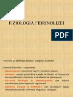 Fiziologia Fibrinolizei