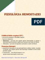 Fiziologia Hemostazei