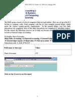 EIN 6133 SAP_General Ledger S09