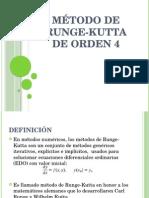 Método de Runge-kutta de Orden 4