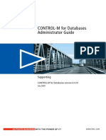 Control-M for Databases Administrator Guide