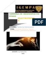 Corriente ELÉCTRICA,Fem y Resistencia Eléctrica