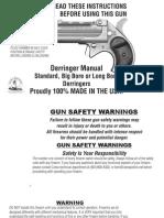 Cobra Firearms Big BoreDerringer Manual
