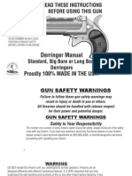 Derringer Assembly Instructions | Firearms | Projectile Weapons