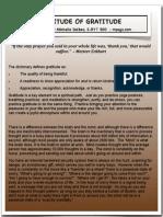 Attitude of Gratitude PDF