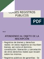 Clases Registros Publicos