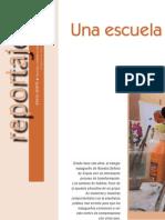 CUADERNOS DE PEDAGOGÍA Una escuela de oportunidades llena de color.