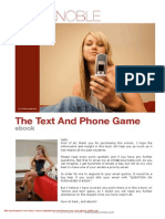 Text and Phone Game