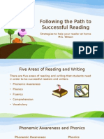 following the path to successful reading- power point presentation