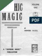 Ormond Mcgill - Psychic Magic