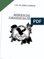 Manual de Área Comn - Varandas Das Praças