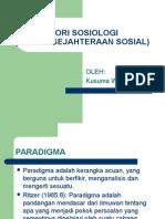 Teori Sosiologi 1