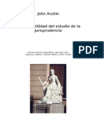 Austin John -Sobre La Utilidad Del Estudio de La Jurisprudencia (21p)