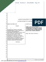 Helix Electric, Inc. v. Division of Labor Standards Enforcement et al - Document No. 18