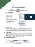 06 Silabo de Gerencia de Productos y Politica de Precios - MEAF611