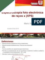 ESPECTROSCOPIA ELECTRONICA DE BARRIDO