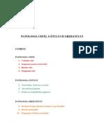 Patologia Cefei, gÂtului Si Grebanului