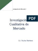 Investigación Cualitativa de Mercado