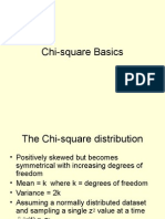 Chi Square Basics