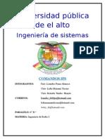 Comandos IPv4 - IPv6