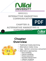 Lecture 8 Alternative Marketing and Support Media