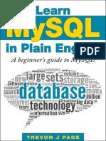 Learn MySQL in Plain English - Trevor Page