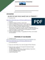 Découvrons Le Poitou-Charentes