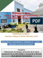 CLASE 3 Funciones Del Farmacéutico Clínico Base Datos