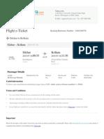 Yatra flight ticket