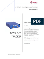 Pretrace Vehicle GPS Tracker TC55 Brochure
