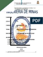 EXPLOSIVOS EN LA MINERIA.docx