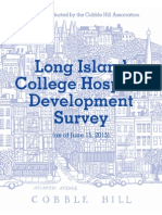 LICH Development Survey Results