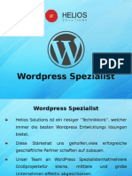Wordpress-Spezialist