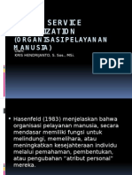 Human Service Organization 1