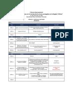 Agenda Curso Modulo I ESA