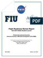 flight readiness review report