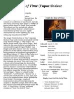 Until the End of Time (Tupac Shakur Album) - Wikipedia, The Free Encyclopedia