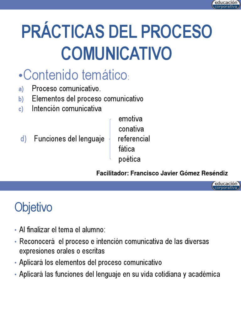 Circuito Comunicativo : Practicas del proceso comunicativo