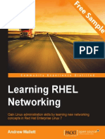 Learning RHEL Networking - Sample Chapter