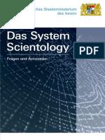 Das System Scientology. Bayererisches Staatsministerium