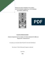 Plan Tesis Modelo Iso 14001