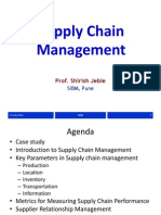 Supply Chain Management_post Training Reference