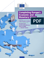 Completing Europe's Economic & Monetary Union